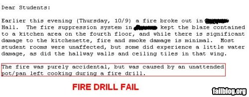 fail-owned-fire-drill-fire-fail