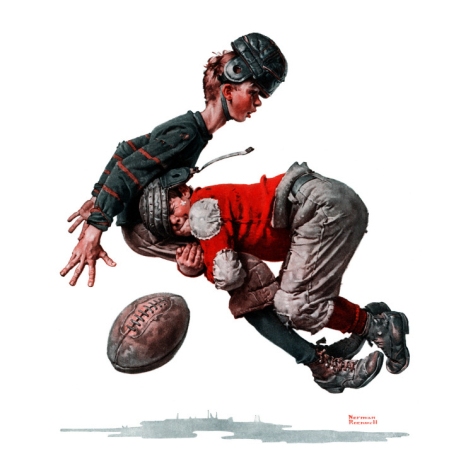 norman-rockwell--fumble-or-tackled-november-21-1925_i-G-52-5270-BNPZG00Z